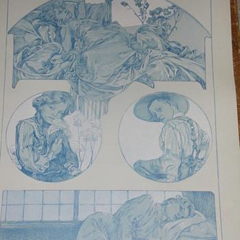mucha lithos 1902 approx  - Art Nouveau