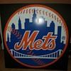 Shea stadium Mets Sign from playera lounge