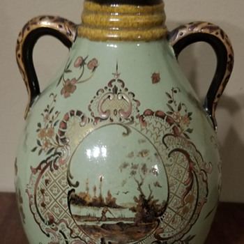 Emile Galle Pottery Vessel - Art Nouveau