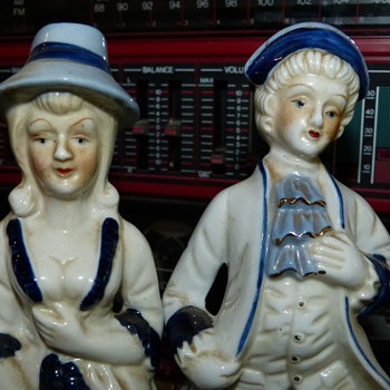 Victorian Figurines - Pottery