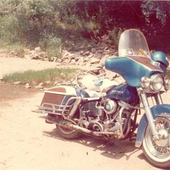 Dad's 51 Panhead - Motorcycles