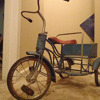 Antique Tricycle of Unknown History - Toys