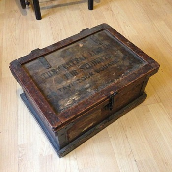 A lovely old box from ( the central library ) London