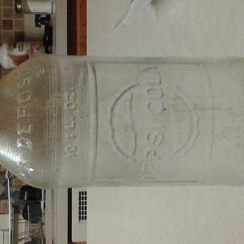 pepsi cola bottle