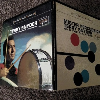 Early For A LP...Percussionist Terry Snyder...On 33 1/3 RPM Vinyl - Records