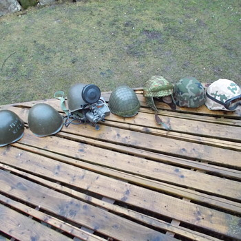 my polish army helmet collection