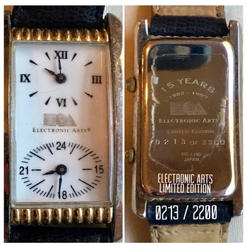 Mysterious Fossil Inc and Electronic Arts Limited Edition Wristwatch  - Advertising