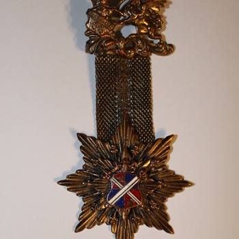 Beautiful medal with mesh chain - Medals Pins and Badges