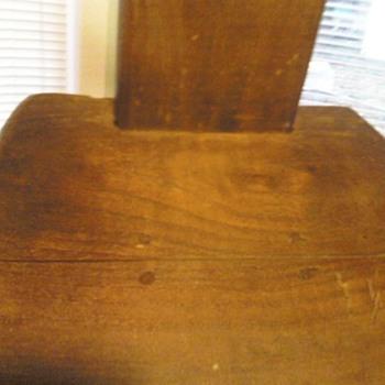 Child's Seat (?) - Furniture
