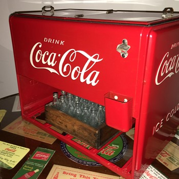 1939 Coca-Cola Salesman Sample Cooler - Coca-Cola