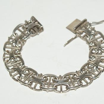 JPC Scandinavian (?) Sterling Bracelet - Fine Jewelry