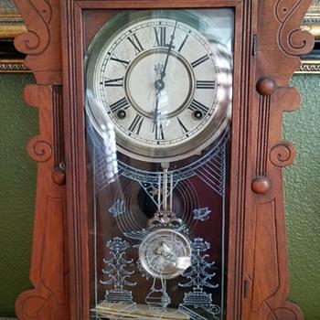 My Hartford clock made by the Waterbury Clock Company - Clocks