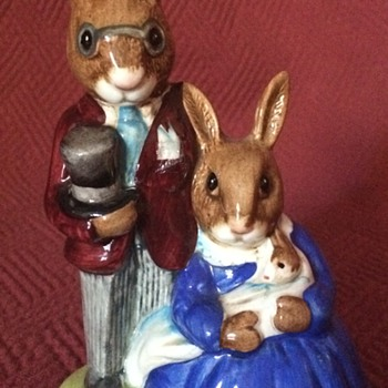 Royal Doulton Bunnykins Figurines - Figurines