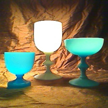 More glass cups - Art Glass
