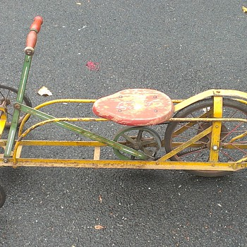 Irish Mail Child's Tricycle - Push/Pull - Toys