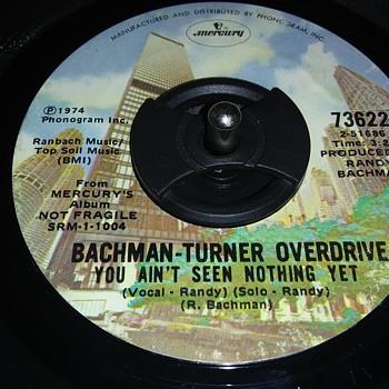 45 RPM SINGLE....#7 - Records