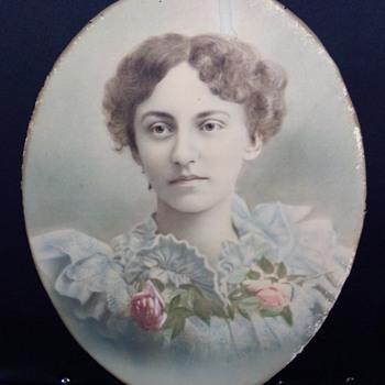 Pastel Portrait ID Help? - Fine Art