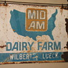 Cool Mid Am Dairy Farm Agricultural Sign