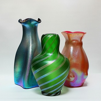 More Groupings… - Art Glass