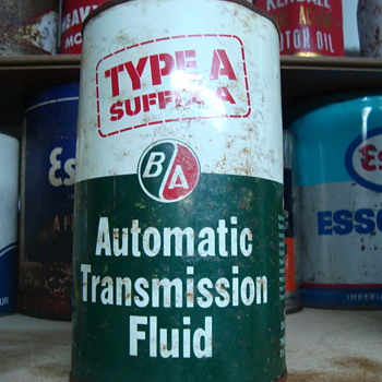 B/A type a   transmission fluid  - Petroliana