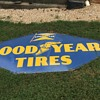 Has anyone seen a very large diamond Goodyear tire sign with a flat bottom?