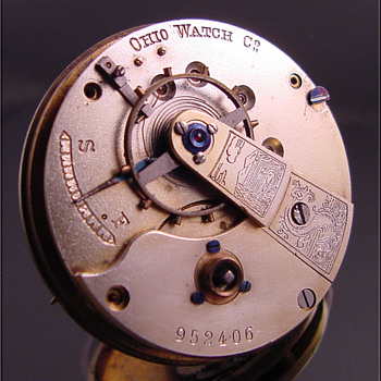 "Swiss ""Fake"" pocket watch movement & dial"
