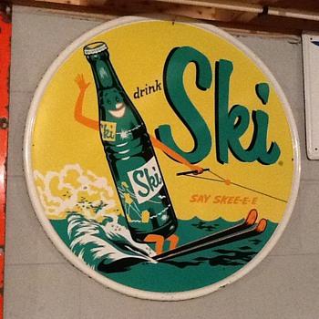 My Ski beverage sign