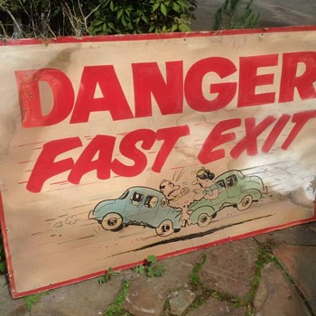 Vintage automotive signs - Signs