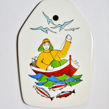 "GERD -DESIGN ""TORSKEFISKE"" - Pottery"
