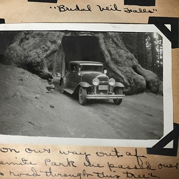 Travels of the USA in 1930's - Photographs