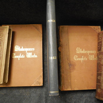 "Antique Book ""Punch's Almanack For 1863"" Jan.-Jun. - Books"