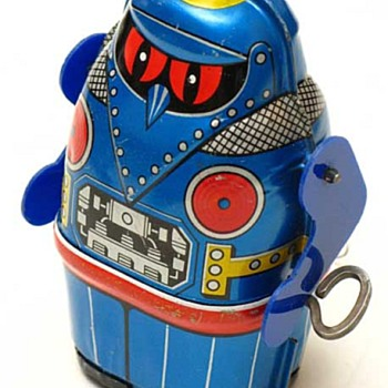 tin robot japan by Jone - Toys