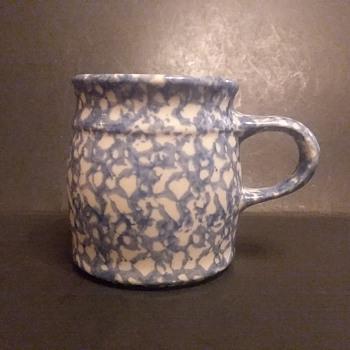 Charles E. Henn spongeware mugs - Pottery