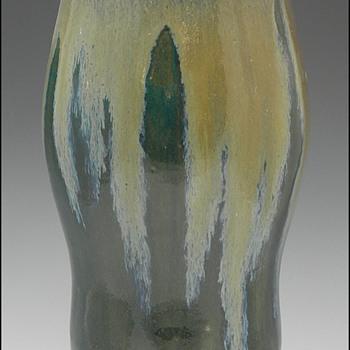 Pre-1904 Auguste Delaherche Glazed Stoneware Art Pottery Vases - Pottery