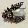 Bumble bee 1880' brooch.