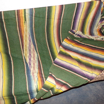 Colourful Blanket - Sewing