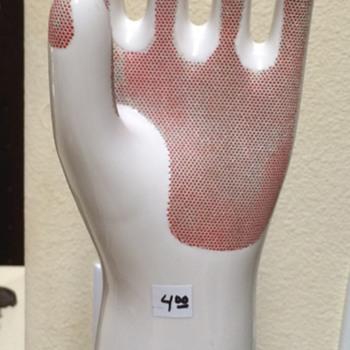 Saturday Rummage Finds Pircelain Glove Mold - Accessories