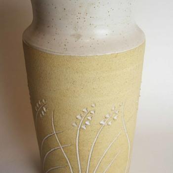 Mid Century? Stoneware Vase - Pottery