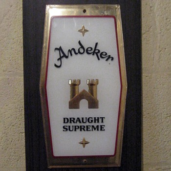 Beer Signs from the Mancave.