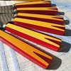 Bakelite fruitknifes from Solingen Germany