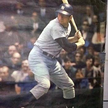 1968 NY Baseball Poster - Baseball