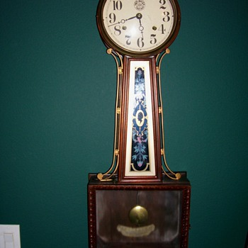 Large New Haven Banjo Clock - Clocks