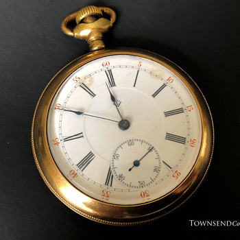 The T. EATON Co. Limited, Winnipeg Men's Watch circa. 1912 - Pocket Watches