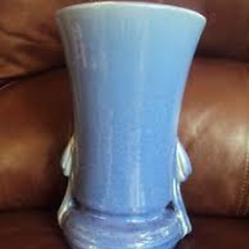 McCoy Monday: The Draped-handle Vase - Pottery