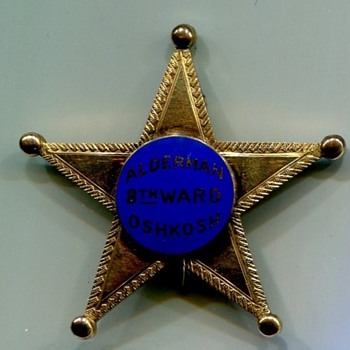 Alderman Badges - Medals Pins and Badges