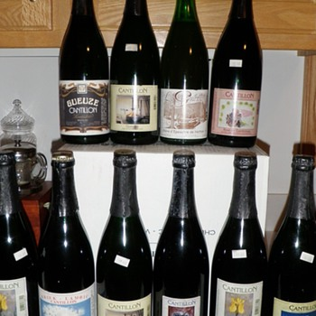 A homebrewer's beer cellar-saved for a special occasion