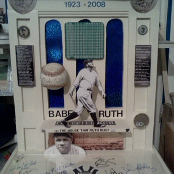 Yankee Stadium/Babe Ruth tribute - Baseball