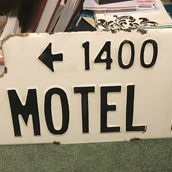 Vintage St. sign  - Signs