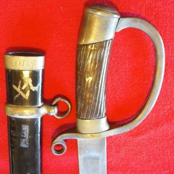 Persian 1909/Russian 1881 Style Saber - Military and Wartime