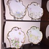 Victorian Limoges France Hand Painted Plate Set